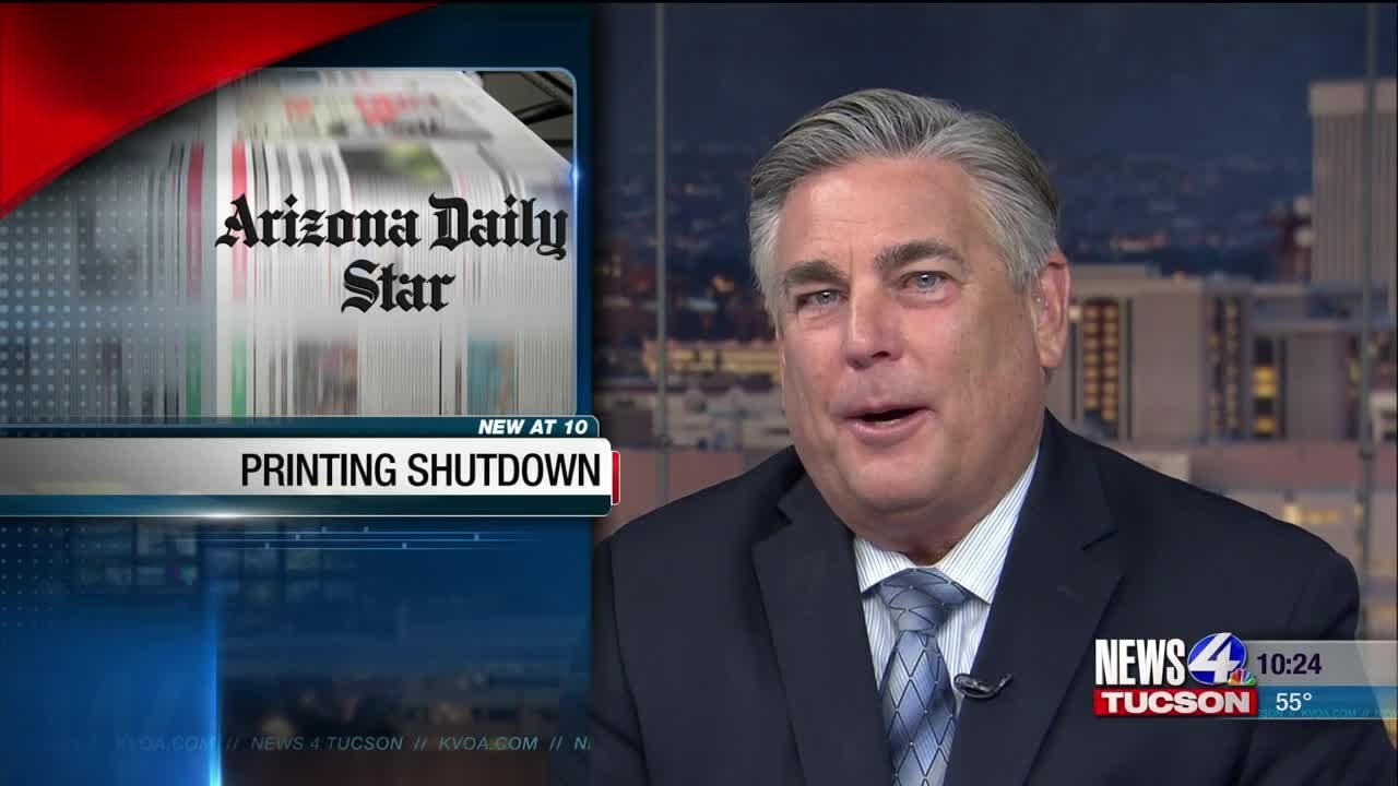 News 4 Tucson >> Arizona Daily Star Closing Printing Press Facility Kvoa Com