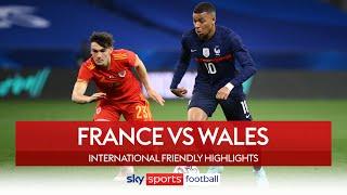 France brush aside 10-man Wales! | France 3-0 Wales | International Friendly Highlights