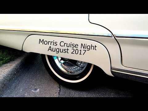 Morris Cruise Night -- Morris, IL USA -- August 2017 -- time lapse