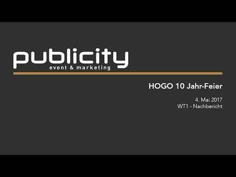 HOGO - 10 Jahr Feier