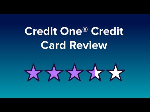 Credit One Bank Credit Card