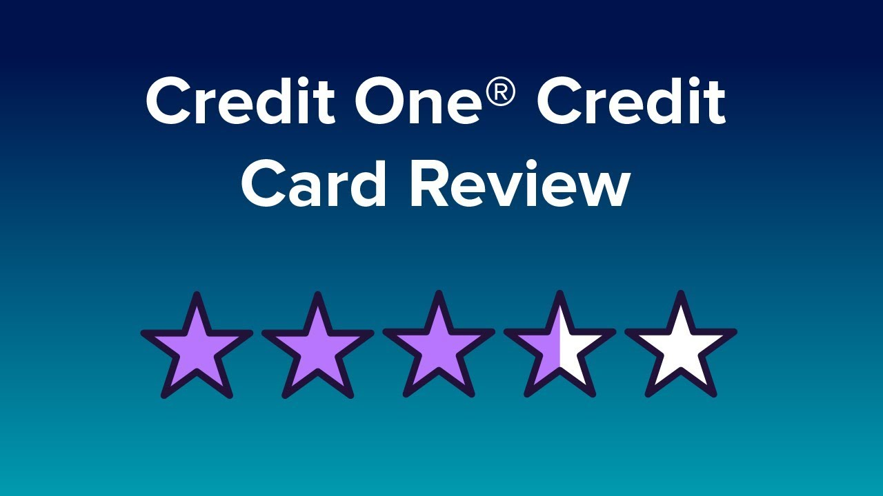 Credit One Pre Approval >> Credit One Credit Card Reviews