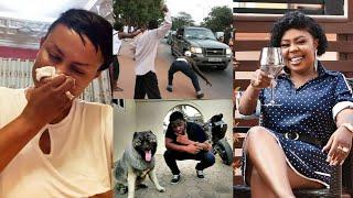 Bulldog&#39s Arrèsts. Afia Scharwz and Nana Ama Mcbrown Breaks Silence with tears