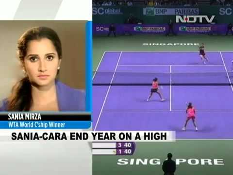 Sania Mirza Cara Black Clinch WTA Finals Doubles Title