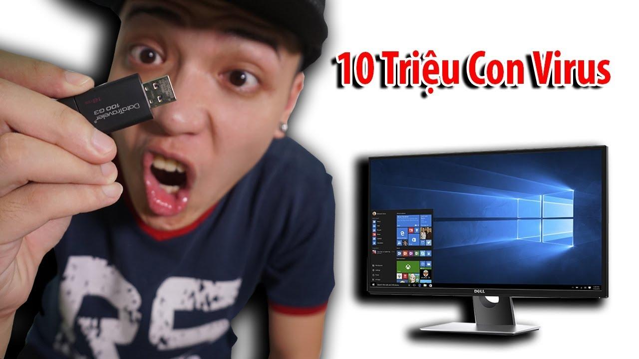 NTN - Phá Hủy PC 5000$ Bằng 10 Triệu Con Virus (Destroying my 5000$ pc with 10 million viruses)