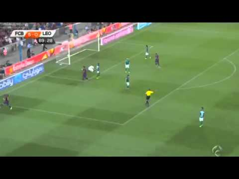 Ramirez Goal ~ FC Barcelona vs Club León 6 0 ~ 2014 HD