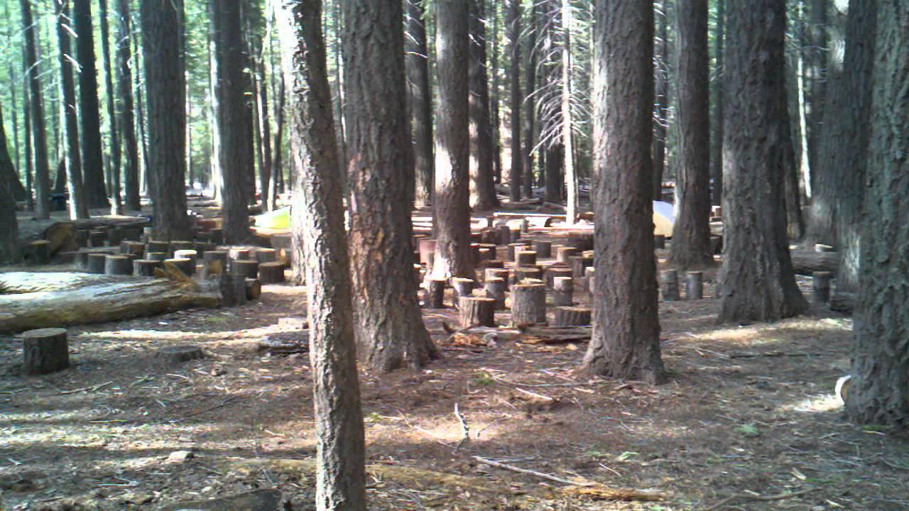 Little Yosemite Valley campground. - YouTube