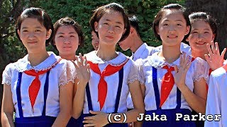 Lucu, cantik dan imut! Sesi latihan anak-anak Korea Utara menyanyikan lagu-lagu Nasional Indonesia.