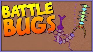 KILLING THE BUG CHAMPION & BEATING THE GAME - Ludum Dare 38 - Let's Play Battle Bugs Gameplay