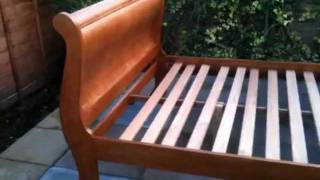 Walnut Mahogany Sleigh Bed Furniture-tube Ebay Item Number 290634353954 Now Sold
