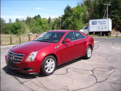 2008 cadillac cts start up engine full review youtube. Black Bedroom Furniture Sets. Home Design Ideas