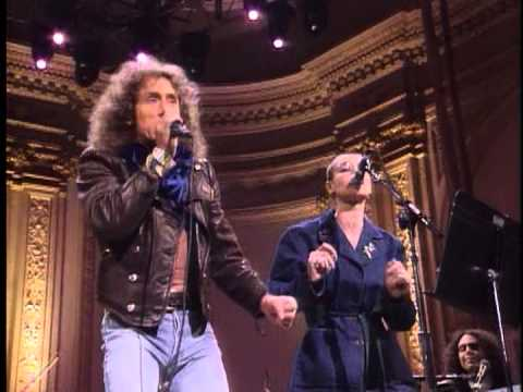Roger Daltrey - Baba O'Riley ( with sinead o connor )