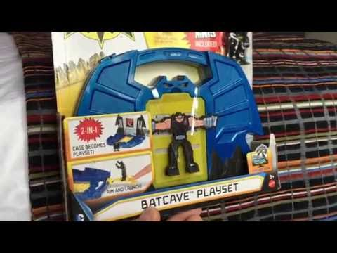 Mighty Minis Batcave Playset from Batman Unlimited Mechs vs Mutants