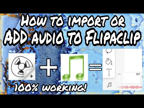 how to add music to flipaclip for free