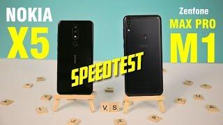 Speedtest Nokia X5 vs Asus Zenfone Max Pro M1: Ai mới là bá chủ phân khúc 3 đến 4 triệu?