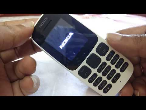 Nokia 105 Dual Sim @1100 ₹ white color phone Full review and un-boxing