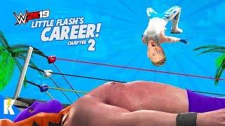 Little Flash faces EL MAGO WWE 2k19 Career Mode SKIT Part 2  KIDCITY GAMING