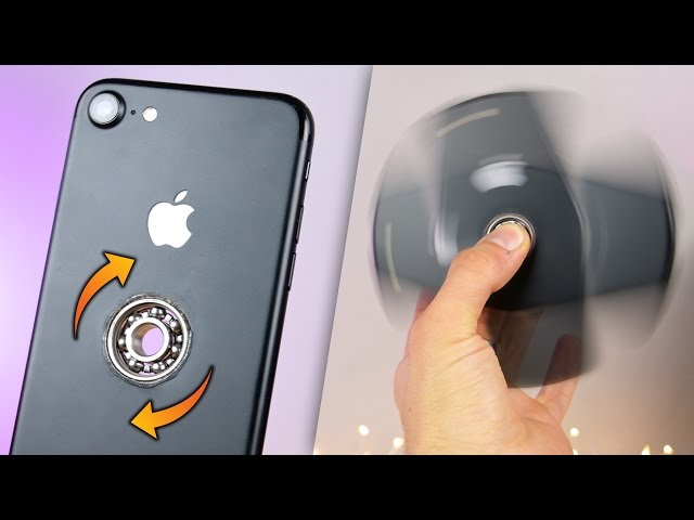 Watch How to turn an Apple Phone into a fid spinner Business