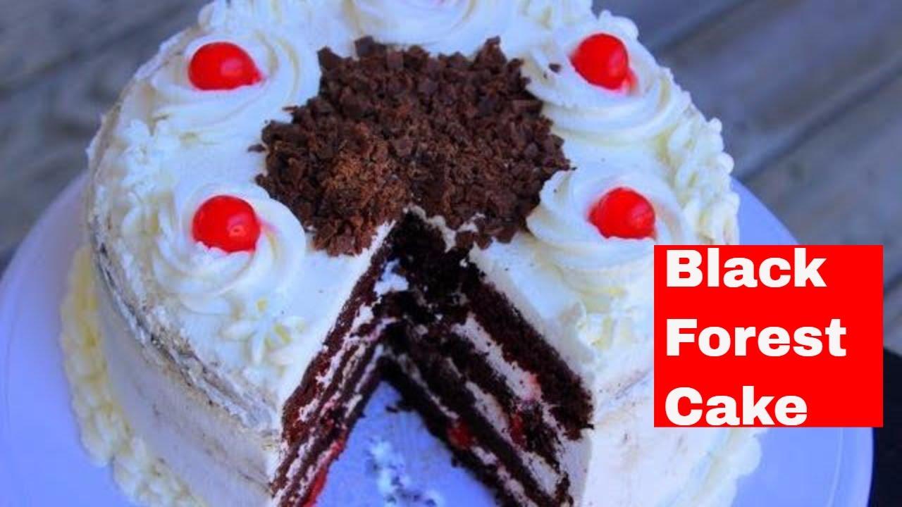 Cake Recipes In Malayalam Video: ബ്ലാക്ക് ഫോറസ്റ് കേക്ക്