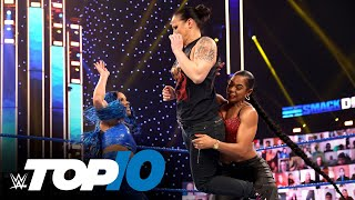 Top 10 Friday Night SmackDown moments: WWE Top 10, Feb. 12, 2021