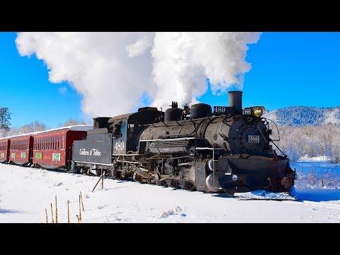 Winter STEAM TRAIN! Cumbres & Toltec Scenic