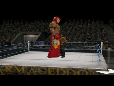 Rey Mysterio Height Hacked | WWE SmackDown vs. Raw 2007