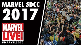Frank Tieri Wreaks Havoc at the Marvel LIVE! Booth at San Diego Comic Con 2017