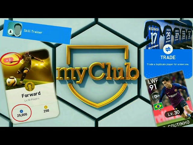 PES 2019 MOBILE - ALL NEW myClub FEATURES