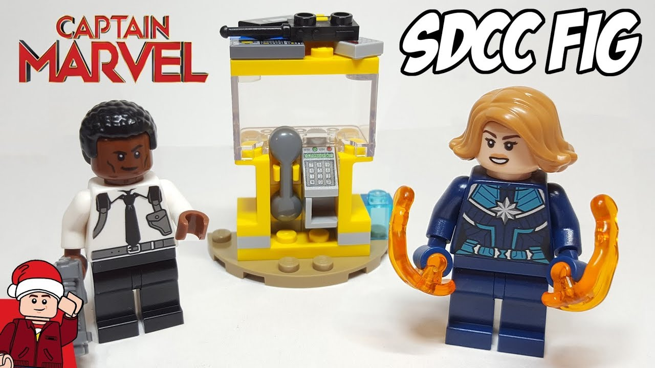LEGO 30453 Captain Marvel and Nick Fury Polybag New
