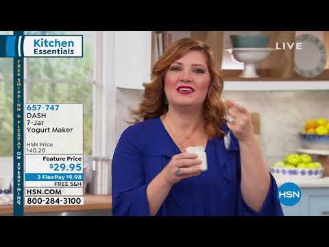 DASH 7Jar Yogurt Maker With Recipes