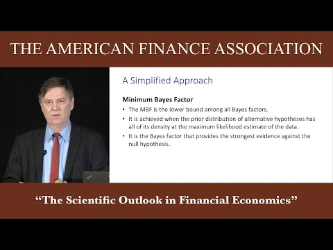 2017 AFA Presidential Address: The Scientific Outlook in Financial Economics