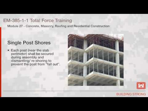 NAVFAC Safety Training Module 27: Concrete Masonry Roofing