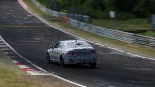 The Completely New Audi A6 C8 Being Tested At The Nürburgring [20-06-2017]