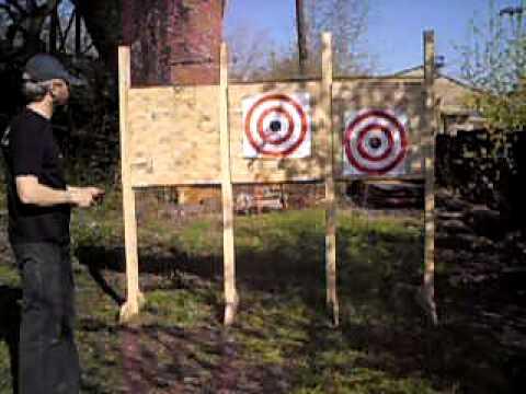 Изготовление боевых метательных ножей самостоятельно