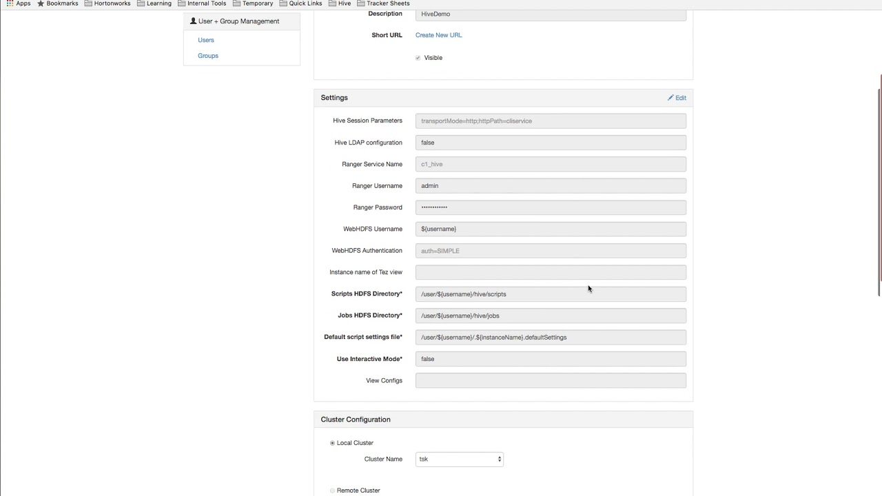 How To: Configure Hive View 2 0 To View Ranger Policies Associated With A  Table