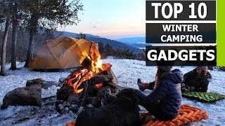 Top 10 Best Winter Camping Gadgets Innovations