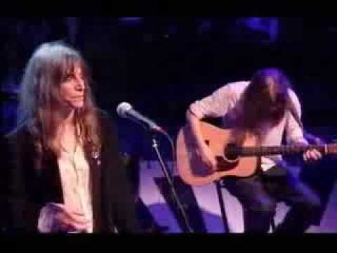 Patti Smith - Dancing Barefoot (Later with Jools)
