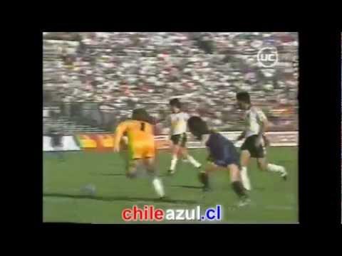 U DE CHILE vs colo colo, 10 de abril 1994. El nacimiento de un ídolo: José Marcelo Salas x 3