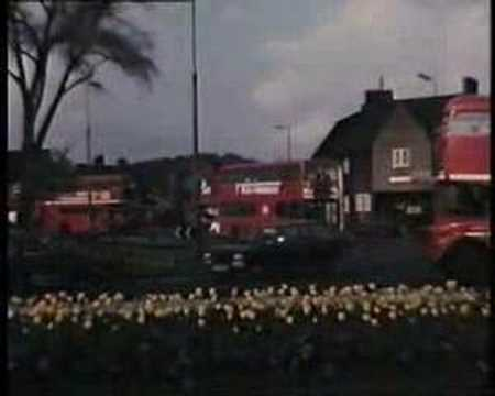 Buses at Woolwich Ferry and at Eltham