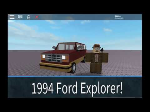 Roblox Tour Of My 1994 Ford Explorer - roblox 1994