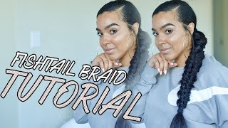 Super Long Side Fishtail Braid Tutorial | Talk Through