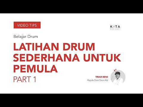 Belajar Drum : Cara Latihan Sederhana - Triar Beni PART 1