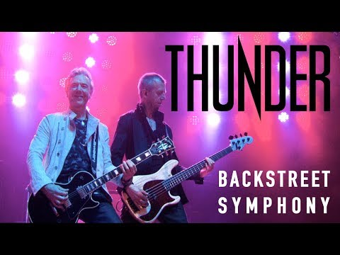 """Thunder """"Backstreet Symphony"""" (Live in Cardiff) - New Live Album """"STAGE"""" out March 23rd"""