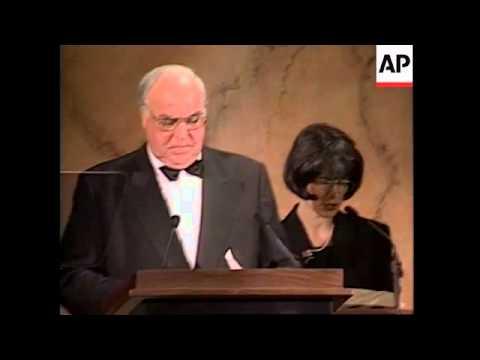 USA: WASHINGTON: GEORGE C MARSHALL FOUNDATION DINNER