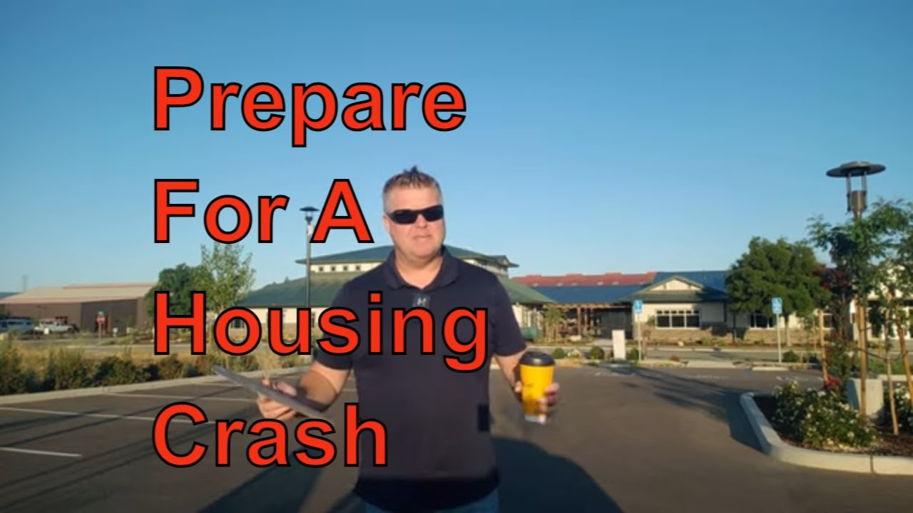 How to prepare for a Real Estate Crash & what you can do right now Stop caring about price inflation
