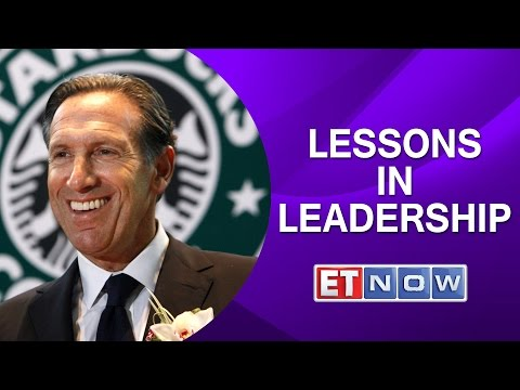 Starbucks CEO Howard Schultz Speaks On Lessons In Leadership