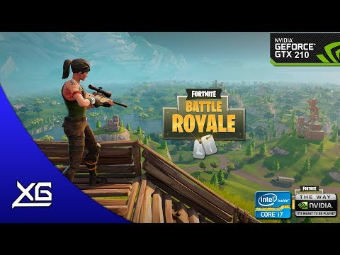 Fortnite Battle Royale Graphics | Nvidia Geforce GT 210 1GB DDR3 | 480p | LOW | FPS - TEST