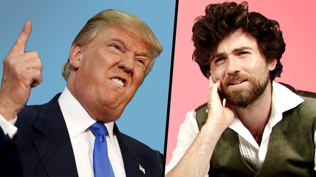 Irish People's Reactions To Donald Trump - YouTube
