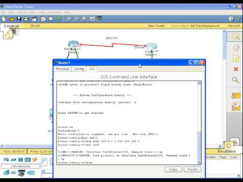 CISCO Routing Information Protocol (RIP) Packet Tracer (Tagalog Tutorial)
