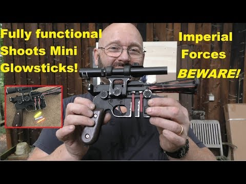 The BEST Han Solo Blaster ever? Fully functional!